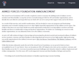 armedforcesfoundation.org