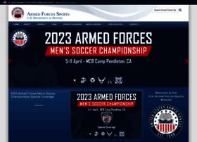 armedforcessports.defense.gov
