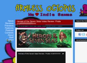 armlessoctopus.com