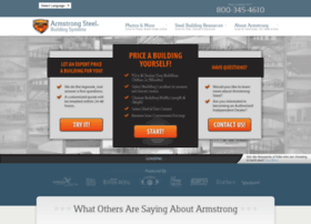 armstrongsteelbuildings.com