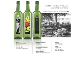 armstrongvalleywinery.com
