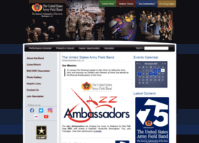 armyfieldband.com
