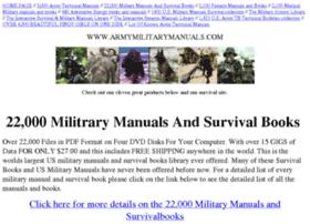 armymilitarymanuals.com