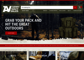armynavysales.com