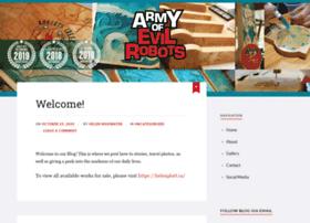 armyofevilrobots.com