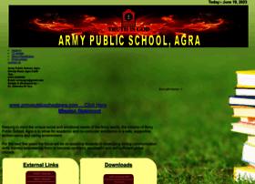 armypublicschoolagra.com