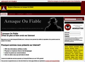 arnaqueoufiable.com
