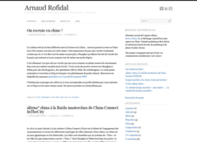 arnaudrofidal.com