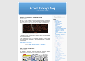 arnoldzwicky.org