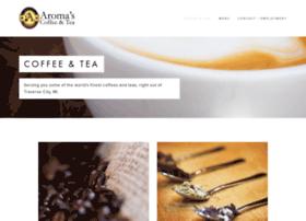 aromascoffeeshop.com