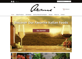 aromiwineandfood.com