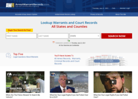 arrestwarrantrecords.com
