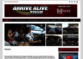 arrivealivetour.com