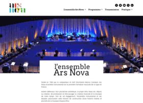 arsnova-ensemble.com