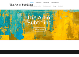 art-of-subtitling.com
