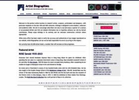 artbiogs.co.uk