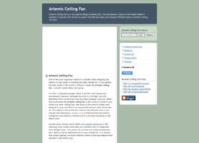 artemis-ceiling-fan.blogspot.com