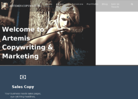 artemiscopywriting.com