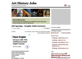 arthistoryjobs.com