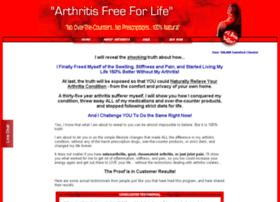 arthritisfreeforlife.com