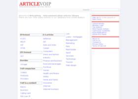 article-voip.com