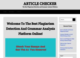 articlechecker.com