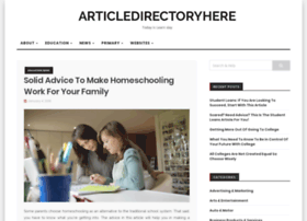 articledirectoryhere.com