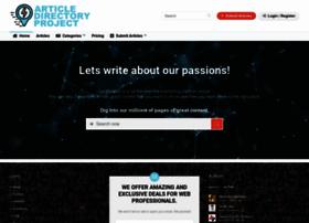 articledirectoryproject.com