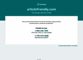 articlefriendly.com