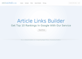 articlelinksbuilder.com