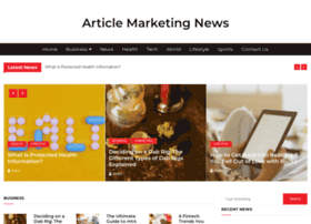 articlemarketingnews.com