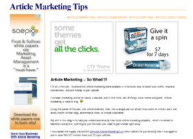 articlemarketingtip.com