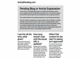 articlepending.com