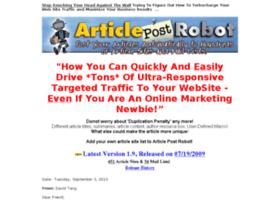 articlepostrobot.com