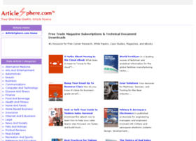 articlesphere.tradepub.com