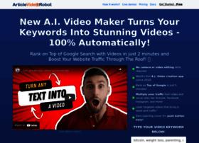 articlevideorobot.com