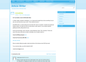 articlewriter.net