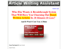 articlewritingassistant.com