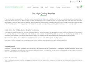 articlewritingservices.org