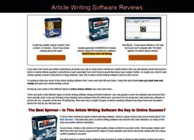 articlewritingsoftwares.com