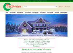 artificialchristmaswreaths.com