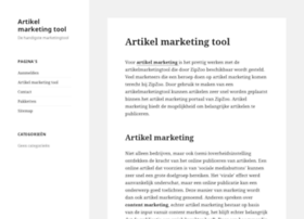 artikelmarketingtool.nl