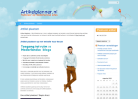 artikelplanner.nl