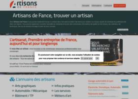artisanat-de-france.fr