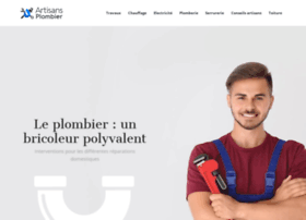 artisans-plombier.info
