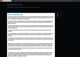 artisnotcrime.com