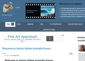 artists-online-australia.com