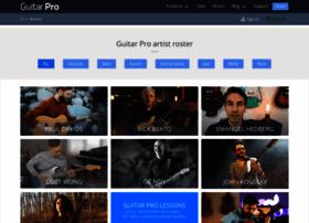 artists.guitar-pro.com