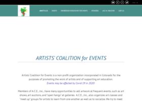 artistscoalitionforevents.com