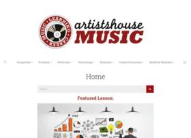 artistshousemusic.org